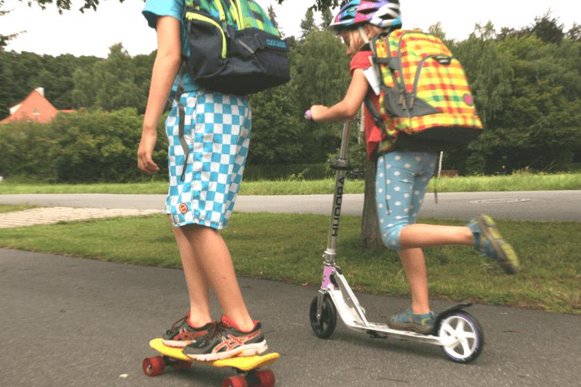 Der Schulweg der Ichlebejetzt Kinder