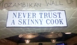 Never trust a skinny cook