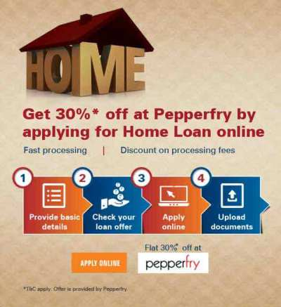 Pepperfry Offer - 30% OFF With Online Home Loan ...