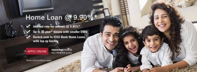 Home Loans, Housing Loan/Finance, Apply Online at ICICI Bank