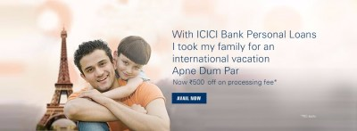 Personal Loan Interest Rates in India - ICICI Bank Personal Loans