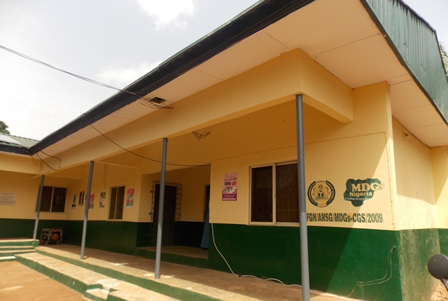 MDG renovated school