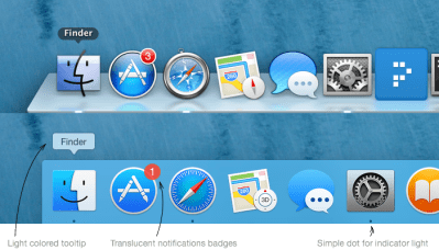 A Look at the UI of OS X Yosemite vs. OS X Mavericks - iClarified