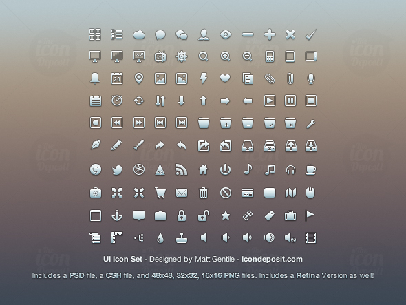 ID Preview 10 Free Icon Packs for UI & Design Usage