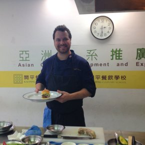 American Chef Bryce Gilmore of Barley Swine Visits Taiwan