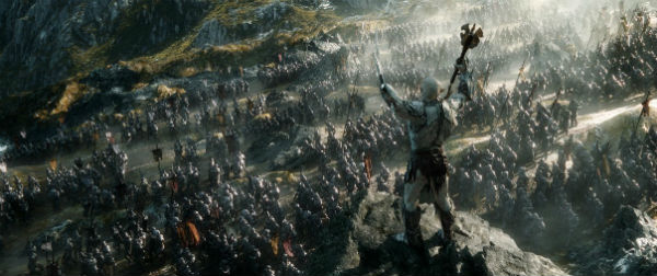 The Hobbit_Azog and army