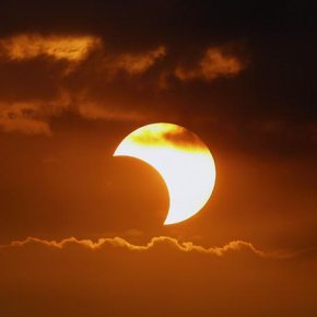 Partial Solar Eclipse on March 9th