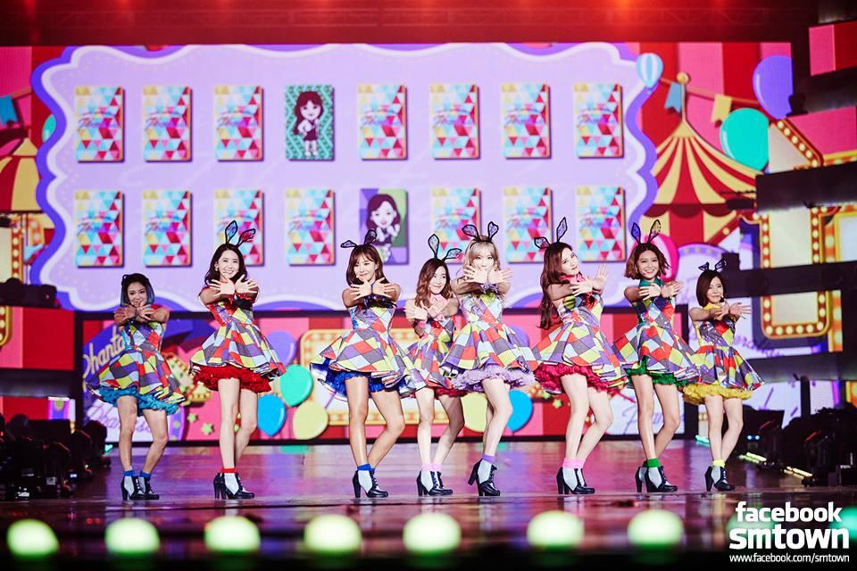 Girls Generation GG South Korea Phantasia Taiwan concert Taipei