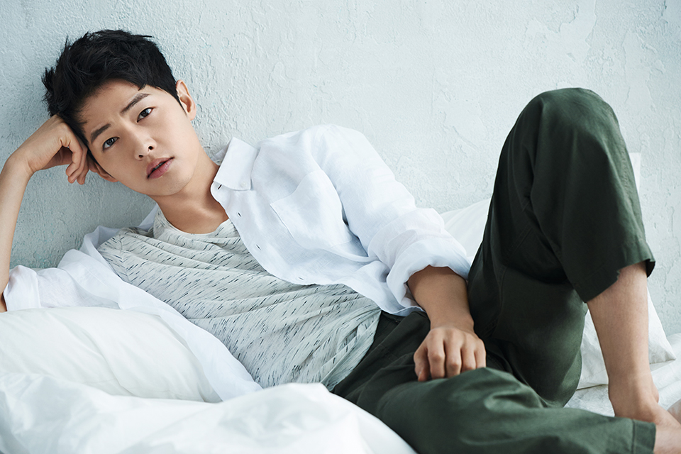 Song Joong-ki Descendants of the Sun Jeju Air Taiwan travel