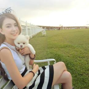 Hannah Quinlivan DIYs Daughter's Birthday Dress