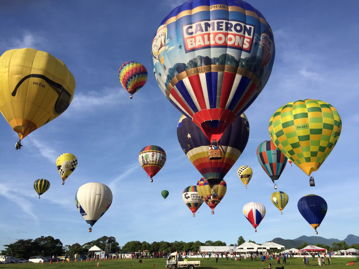 Taiwan International Balloon Festival Taitung Luye Gaotai