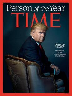 Trump on Time Magazine cover