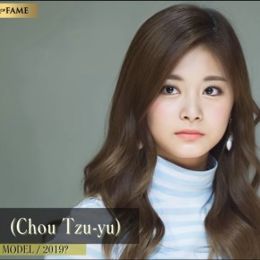 Chou Tzuyu is 2nd Most Beautiful Face 2018