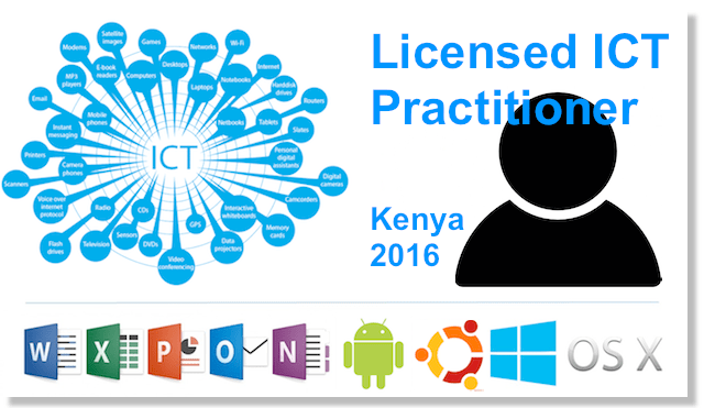 ict practitioner license kenya