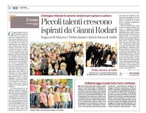 La Stampa, 28 aprile 2018, p. 50 ediz. VCO