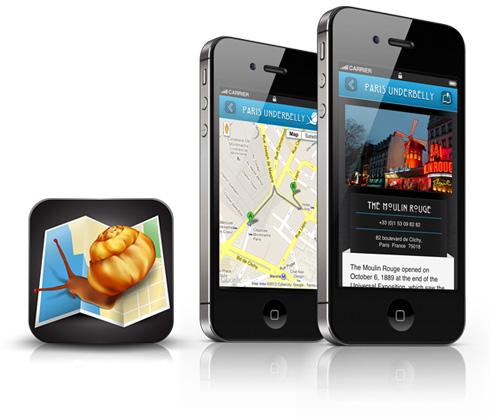 Paris Underbelly Tour Guide App