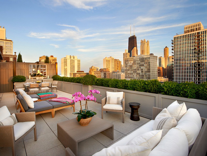 Penthouse for a Large Family in Chicago