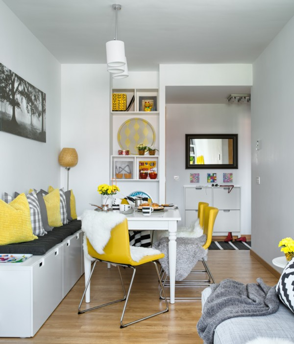 Bright IKEA Apartment