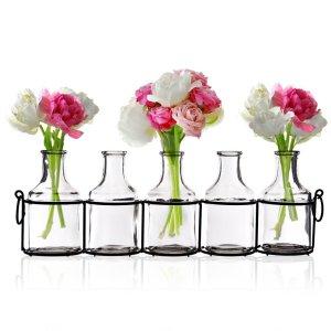 Bookshelf Vases