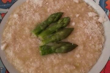 Photo de risotto aux asperges