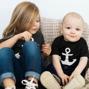 Infant Anchor Christian Graphic Tee