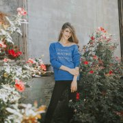 Christian Graphic Sweater – STRONG. BEAUTIFUL. ENOUGH.