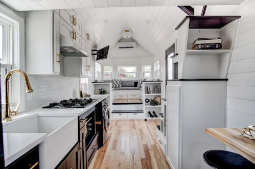 Medium Of Tiny House Kitchen