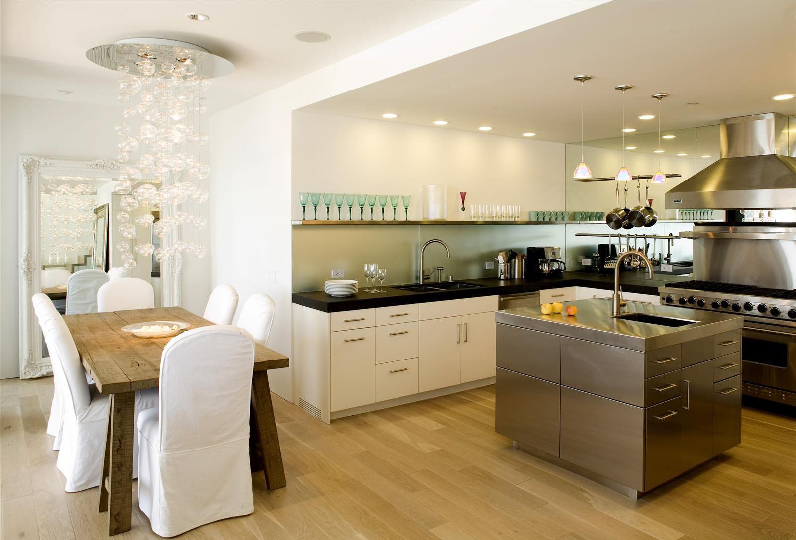 open contemporary kitchen design ideas kitchen designs Via Homeportfolio