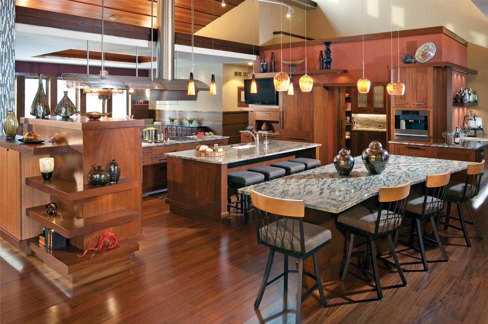 Open Restaurant Kitchen Designs. A Design ...