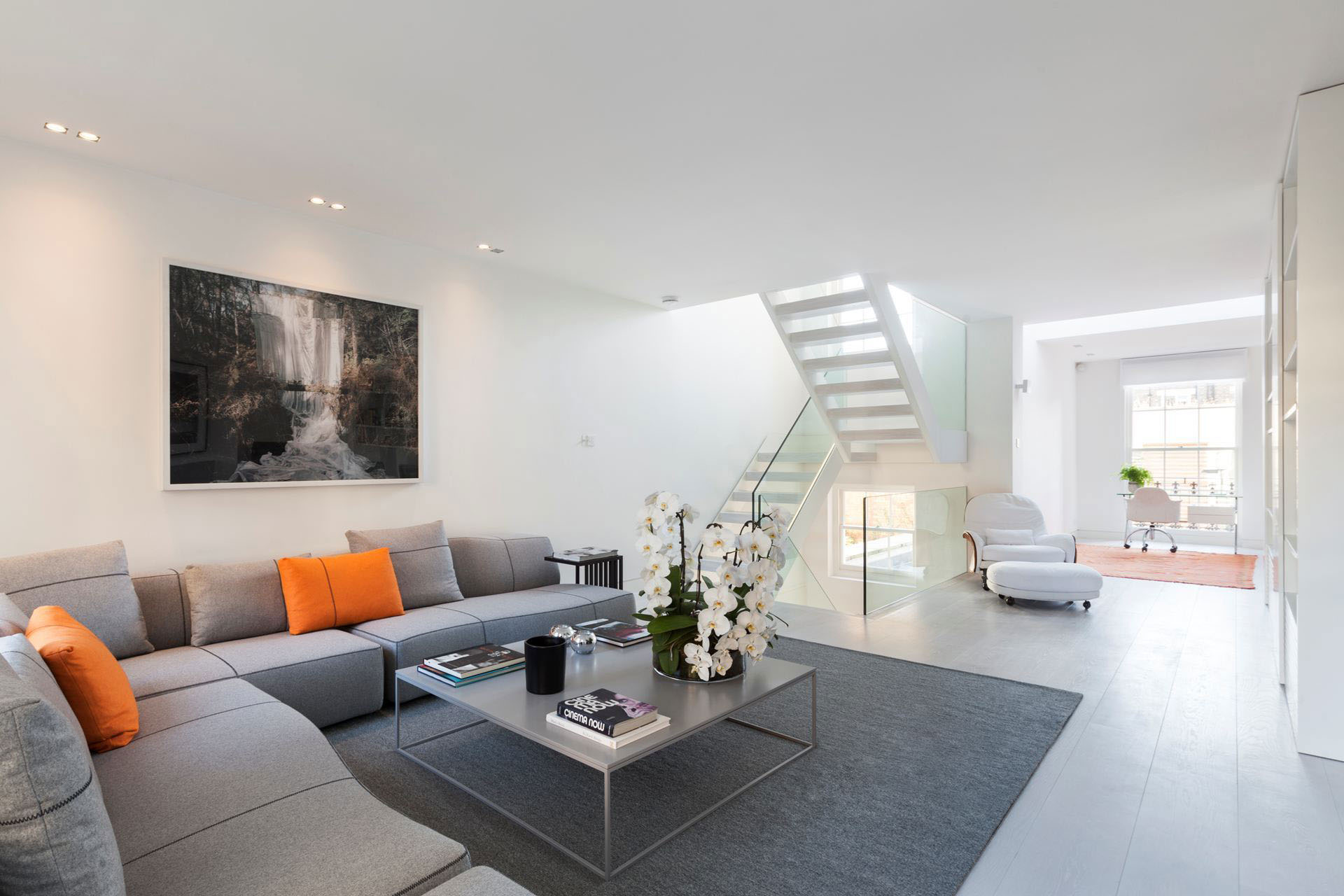 Exquisite Contemporary House Near Kensington Gardens   iDesignArch     Contemporary Luxury Home in Kensington London
