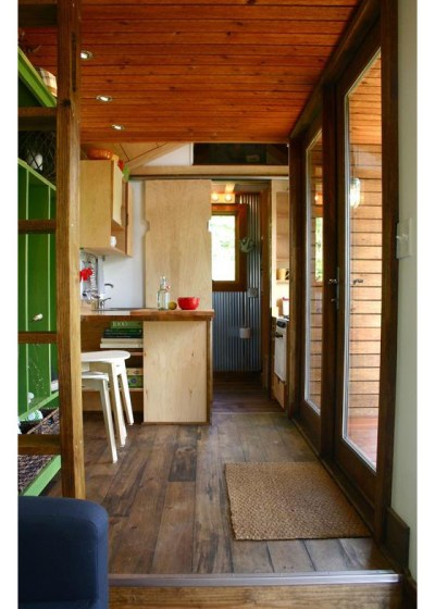 Rustic Modern Tiny House For Tall People | iDesignArch ...