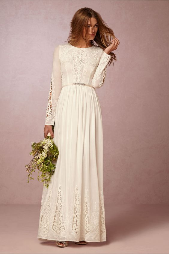 I Do Take Two 10 Modest Wedding Gowns For A Sophisticated ...