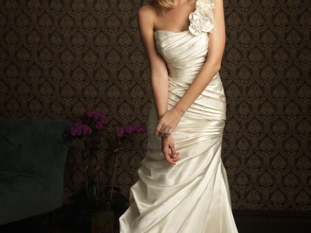 ivory second wedding dress