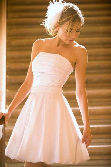 little white dress wedding