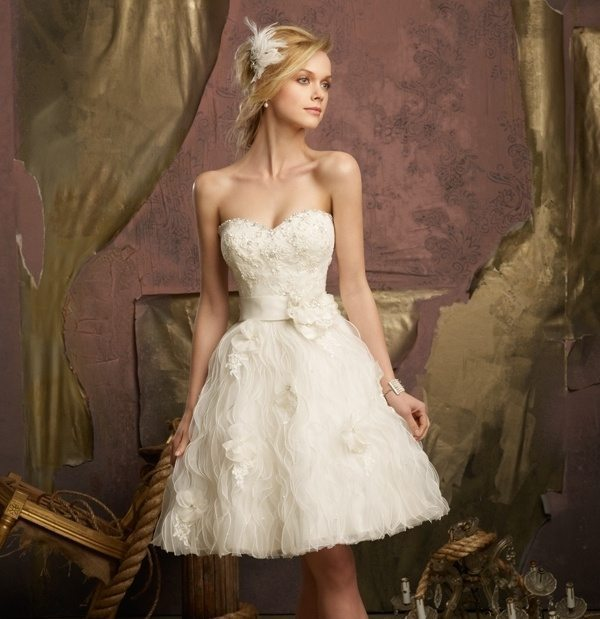 Second Wedding Gowns: I Do Take Two Second Marriage Wedding Dresses