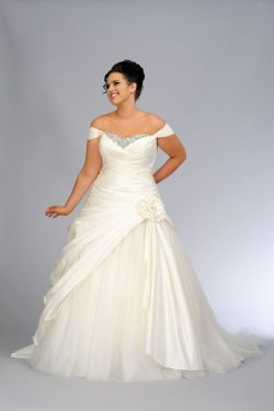 Small Of Plus Size Wedding Dresses