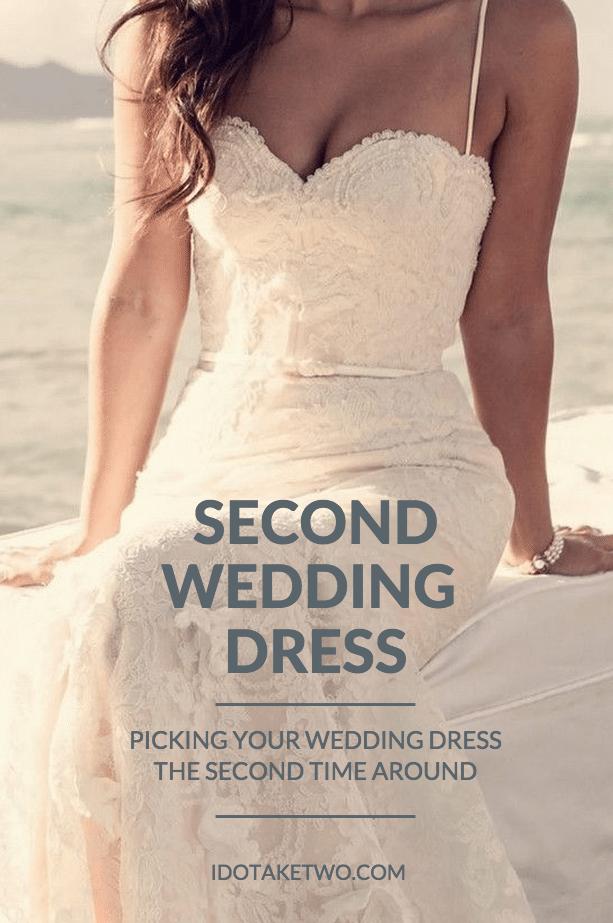second wedding dress