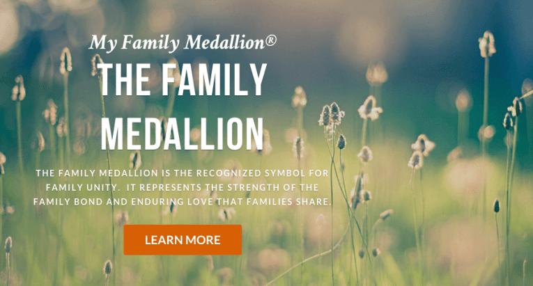 family medallion ceremony