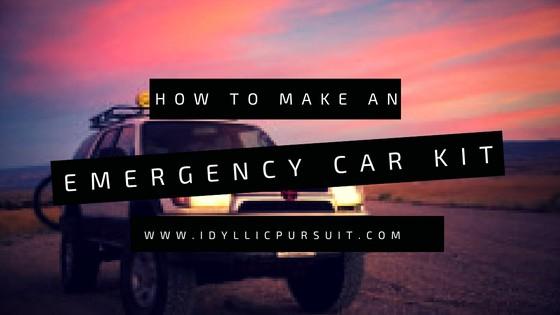 How to Create an Emergency Car Kit