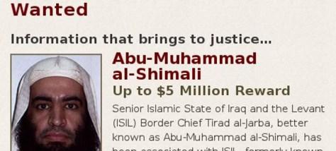 Οι ΗΠΑ προσφέρουν 5 εκατ.δολάρια σε όποιον τους οδηγήσει στον αρχηγό του Ισλαμικού Κράτους