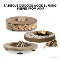 Three Super Hot Outdoor Wood Fire Pits From AK47