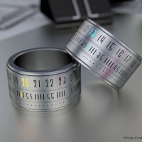 Time Wrapped Around Your Finger. The Ring Clock Becomes A Reality!