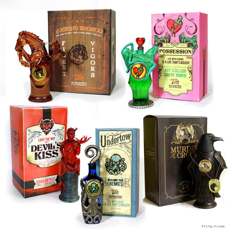 Bioshock Infinite vigor bottles & Boxes IIHIH