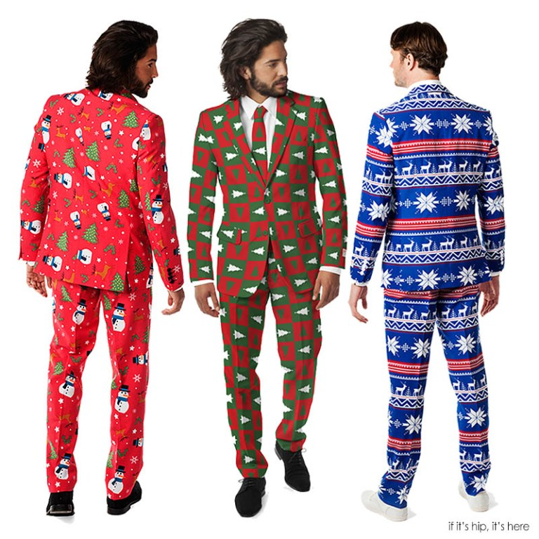 These ugly christmas suits are fabulously festive if it s hip it s