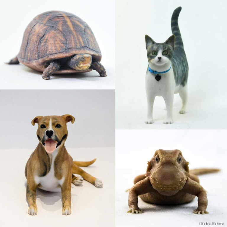 3D Printed Likenesses Of Your Pet