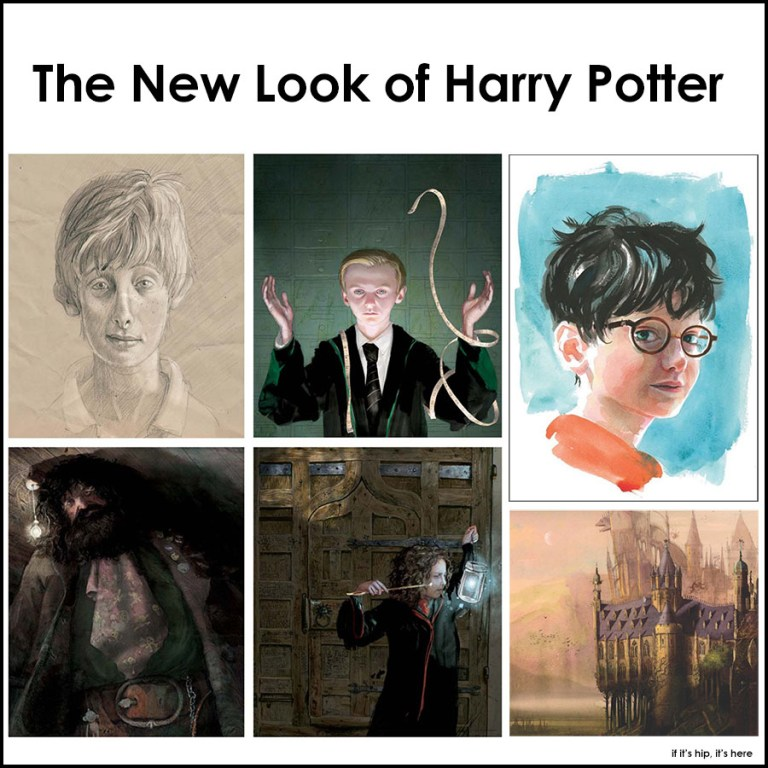 New Harry Potter Illustrations