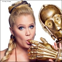 Amy Schumer as Star Wars Princess Leia for GQ - All The Photos & More.