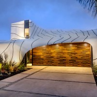The Wild White Aluminum Wave House by Mario Romano in Venice, CA.