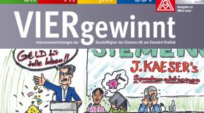 VIERgewinnt – die aktuelle Ausgabe