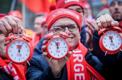 """Zweite Verhandlungsrunde in der Metall- & Elektroindustrie: """"Angebot der Arbeitgeber ist geizig!"""""""
